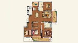 景瑞春风十里 5室2厅2卫 160平方米 精装