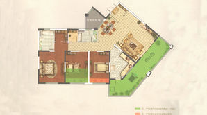 罗托鲁拉小镇 3室2厅2卫 160平方米 毛坯