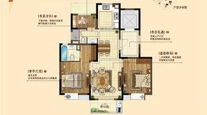 三金鑫宁府 3室2厅2卫 105平方米 毛坯