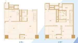 南京金奥缤润汇 3室2厅2卫 86.9平方米 精装