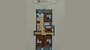 城南幸福里 3室2厅1卫 146平方米 精装