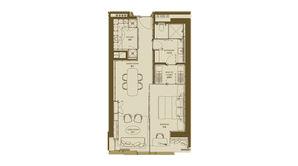 德基世贸中心 2室1卫 95平方米 精装