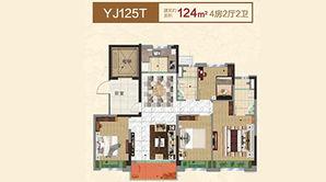 碧桂园欧洲城 4室2厅2卫 124平方米 精装