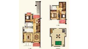 嘉恒有山 3室2厅2卫 190平方米 毛坯