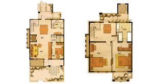 长发都市诸公 4室3厅3卫 220平方米 毛坯