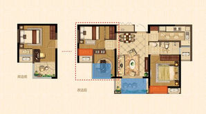 金浦紫御东方 3室2厅1卫 87平方米 精装