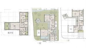 证大九间堂 6室5厅7卫 721平方米 毛坯