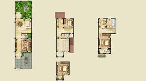 正源尚峰尚水 3室2厅3卫 180平方米 毛坯