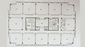 华康国际 1室1厅1卫 51.42平方米 毛坯