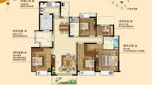 三金鑫宁府 5室2厅2卫 152平方米 毛坯