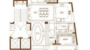 滟紫台 3室2厅2卫 231平方米 精装