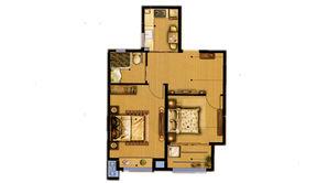 天乐湖 2室1厅1卫 72平方米 精装