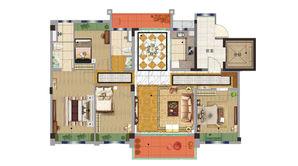 碧桂园欧洲城 4室2厅2卫 143平方米 精装