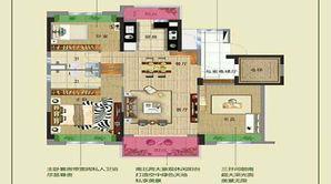 碧桂园十里春风 3室2厅2卫 115平方米 精装