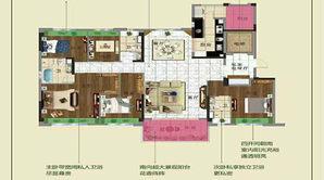 碧桂园十里春风 5室2厅3卫 190平方米 精装