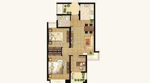 香山壹境 3室2厅1卫 80平方米 毛坯
