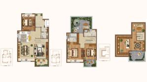 新城源山 4室2厅3卫 140平方米 毛坯