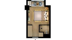 泰达青筑 1室1卫 20平方米 精装