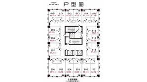 扬州希尔顿酒店公寓 1室1卫 60平方米 毛坯