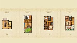 拉斐尔庄园 5室3厅4卫 255平方米 毛坯