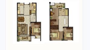 明发·北站新城 4室2厅2卫 138平方米 毛坯