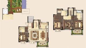 新城璞樾和山 4室2厅3卫 174平方米 毛坯