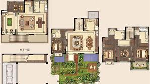新城璞樾和山 4室2厅3卫 274平方米 毛坯