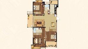 荣盛鹭岛荣府 3室2厅2卫 132平方米 毛坯