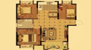 荣盛花语城 3室2厅1卫 102平方米 毛坯