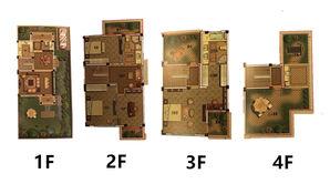 御景园 4室3厅3卫 223平方米 毛坯