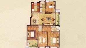 朗诗万都玲珑樾 4室2厅2卫 120平方米 精装
