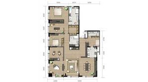 金陵凤栖园 2室2厅2卫 184平方米 毛坯