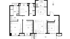 华侨城翡翠天域 4室2厅2卫 130平方米 精装