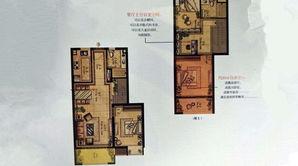 宝地花语墅 3室2厅2卫 90平方米 毛坯