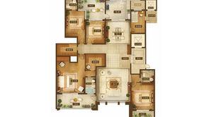 天将孝门 5室2厅3卫 293平方米 毛坯
