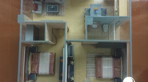 锁金村68号 1室1厅1卫 91.15平方米 精装