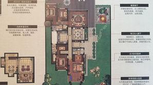 滟紫台 4室3厅4卫 302平方米 毛坯
