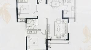 山水云房 2室2厅1卫 101平方米 毛坯