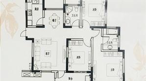 山水云房 3室2厅2卫 128平方米 毛坯