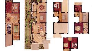 紫金华府 6室4厅4卫 205.11平方米 毛坯