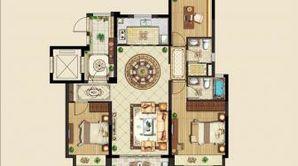碧桂园珺悦府 3室2厅2卫 115平方米 毛坯