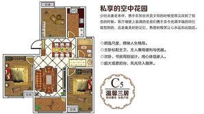 东城尚品 3室2厅1卫 112平方米 毛坯