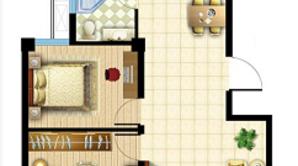 绿洲半岛 3室2厅1卫 103平方米 毛坯