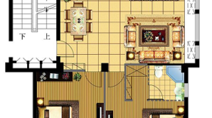 绿洲半岛 3室2厅2卫 110.08平方米 毛坯