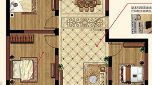 太和名苑 3室2厅1卫 103.21平方米 毛坯
