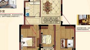 太和名苑 3室2厅1卫 105.86平方米 毛坯