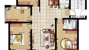 太和名苑 4室2厅2卫 137平方米 毛坯