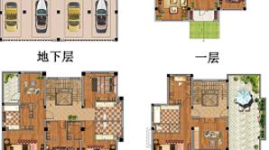 悦达·十里香溪 9室3厅6卫 290平方米 毛坯