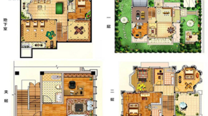 悦达天山水岸花园 8室2厅4卫 609平方米 毛坯