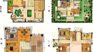 悦达天山水岸花园 7室5厅4卫 682平方米 毛坯